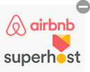 Airbnb superhost rating