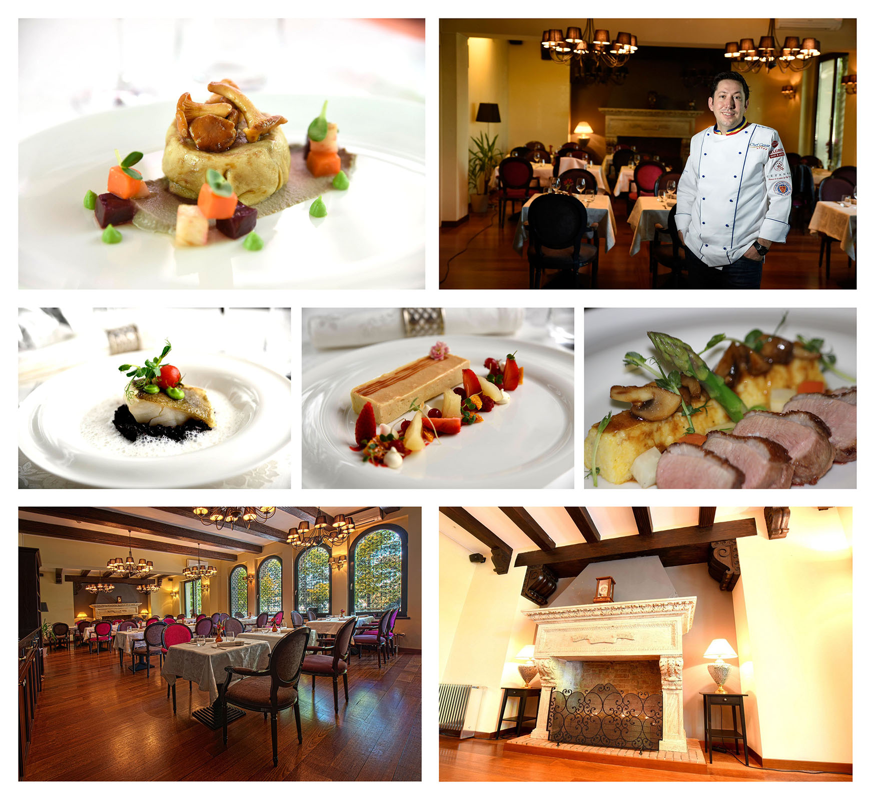 Restaurant Cézanne – glamour de la cuisine by Cezar Munteanu